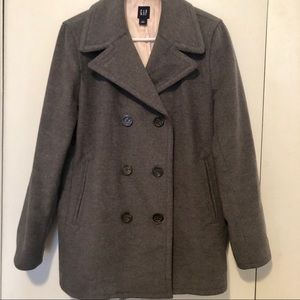 GAP Gray Wool Coat